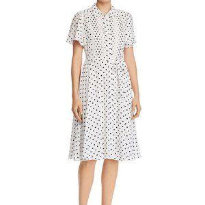Nanette Lepore Belted Polka Dot Dress